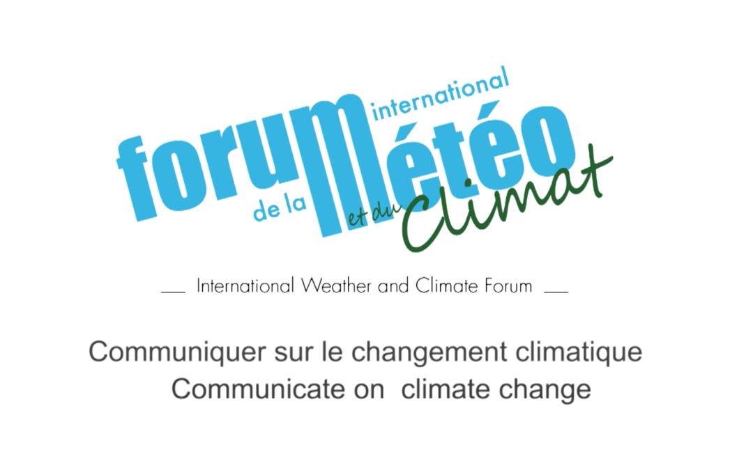 Les présentateurs météo communiquent sur le changement climatique