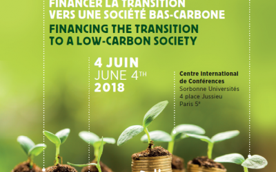 Registrations are open ! 2018 IWF's International symposium – Funding the transition toward a low carbon society