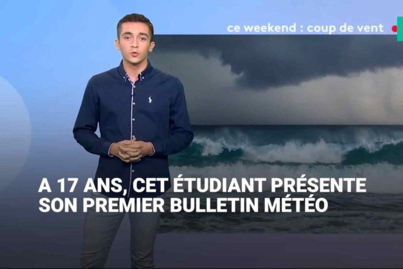 Vainqueur de Meteo's Got Talent: Doryan dans les coulisses d'un bulletin météo