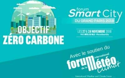Forum Smart City du Grand Paris 2018