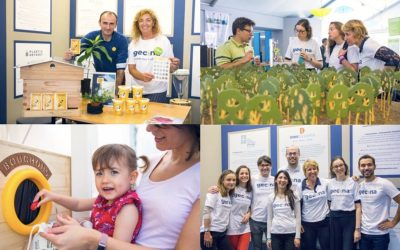 Gecina meets with citizens and school children on climate issues