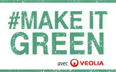 "Veolia et Ulule lancent l'appel à projets ""Make It Green"""