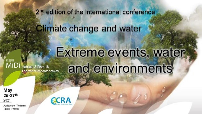 """""""Climate change & Water"""", 25-27 may 2021"""
