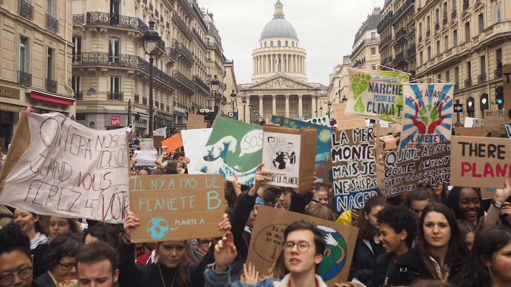 Youth mouvement for the climate
