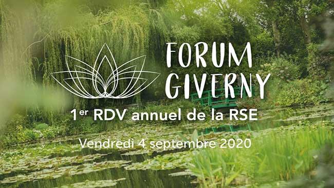 Le FIM partenaire du forum de Giverny 2020