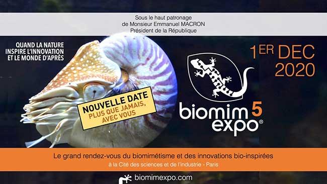 Le FIM partenaire de la 5e édition de Biomim'Expo